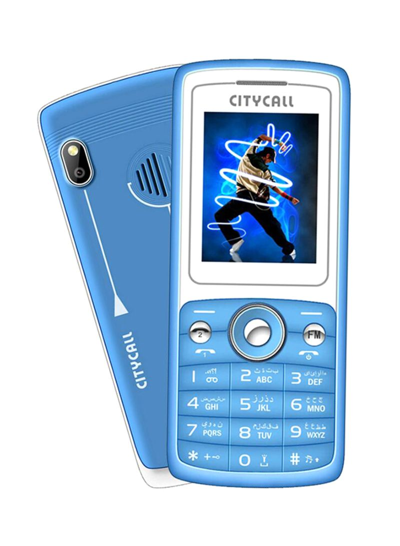 Shop CITYCALL M105+ Dual SIM Blue 2G online in Egypt