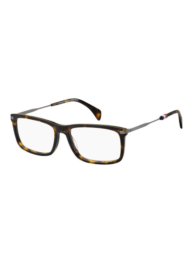 c3dcc36a06359 Shop Tommy Hilfiger Men s Rectangular Eyeglass Frame TH1538-086 ...