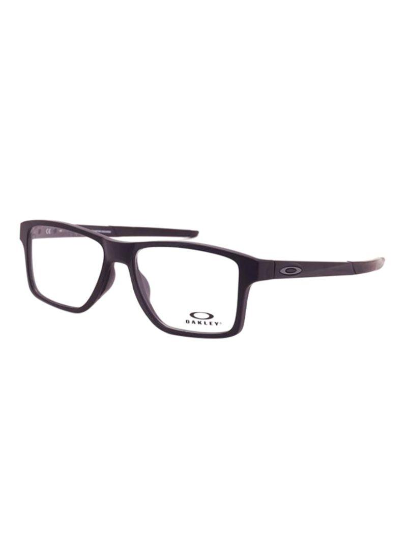 e6220403e76fd Shop OAKLEY Chamfer Squared Rectangular Eyeglass Frame OX8143-01 ...