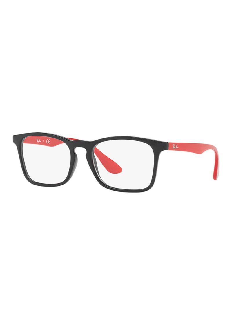 fa4575f66ec4 Shop Ray-Ban Kids  Rectangular Eyeglass Frame RB1553-3725 online in ...