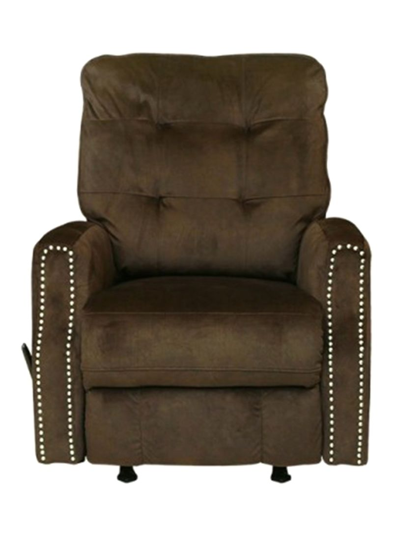 Shop Pan Emirates Willon Single Seater Recliner Sofa Brown Online In