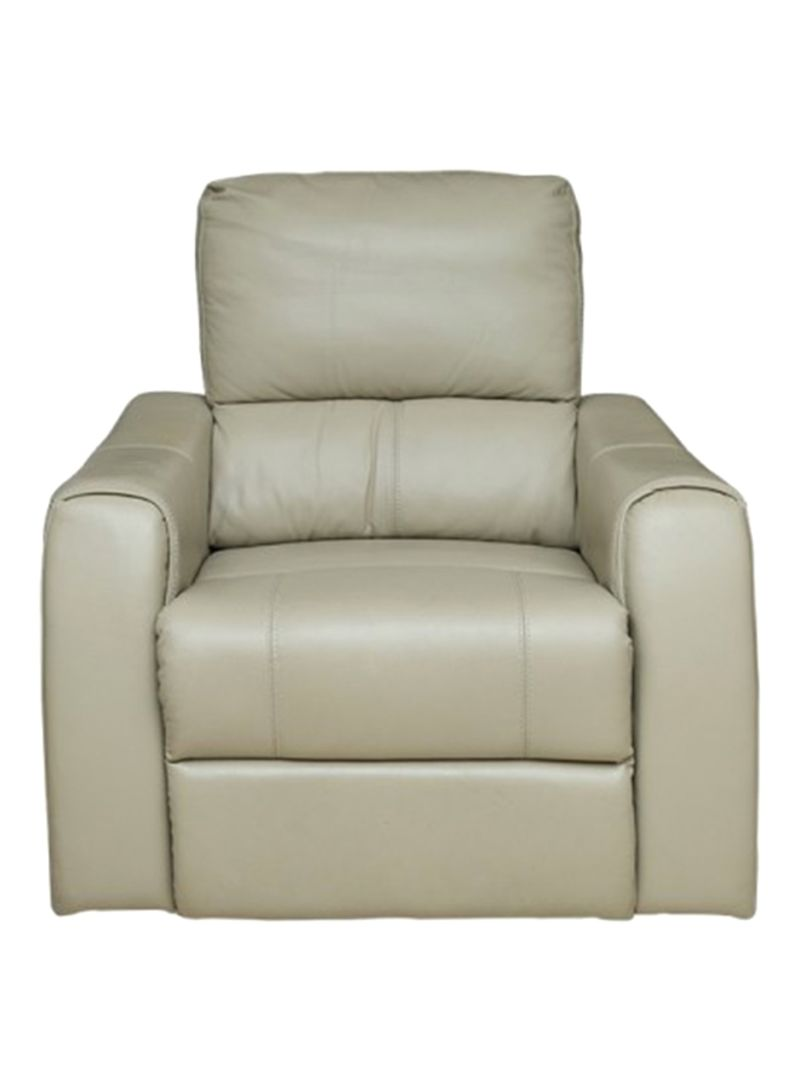 Shop Pan Emirates Freedom Single Seater Recliner Sofa Beige Online