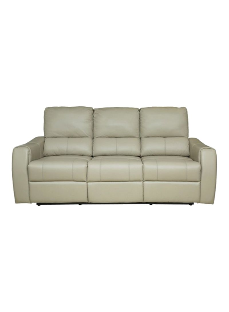 Shop Pan Emirates Freedom 3 Seater Recliner Sofa Beige Online In