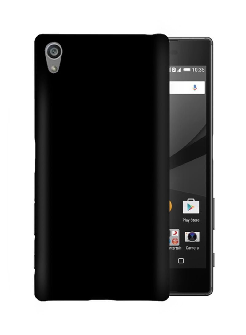 Shop MARGOUN Protective Case Cover For Sony Xperia Z5 Black online in  Dubai, Abu Dhabi and all UAE