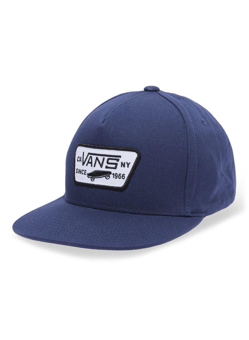 962c42c68f Shop Vans Full Patch Snapback Cap Dress Blues online in Dubai