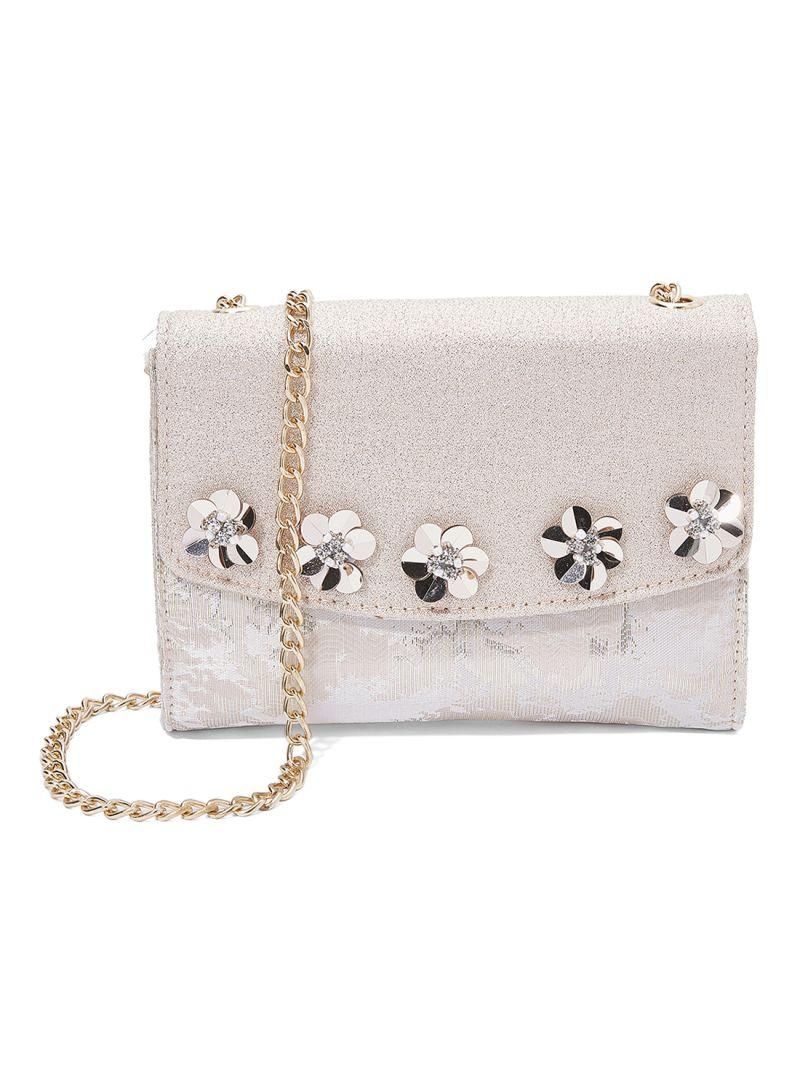 eb1e10de4f Shop Anotah Embellished Design Crossbody Bag online in Dubai