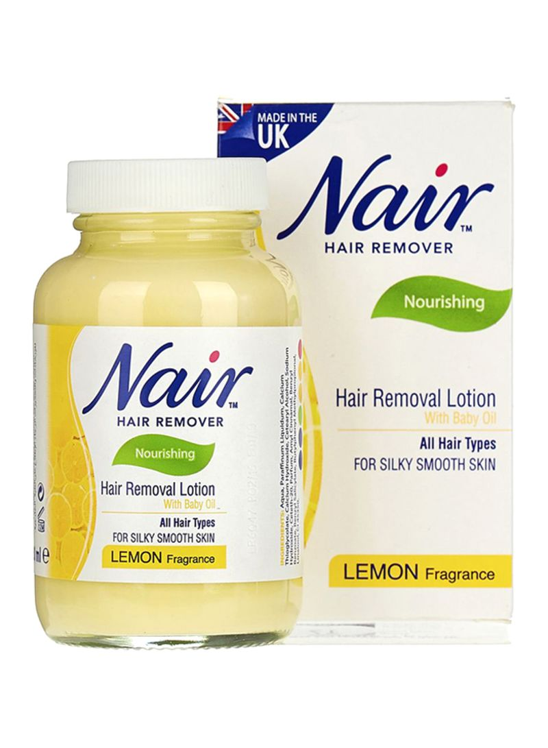 Shop Nair Lemon Hair Removal Lotion 120ml Online In Riyadh Jeddah