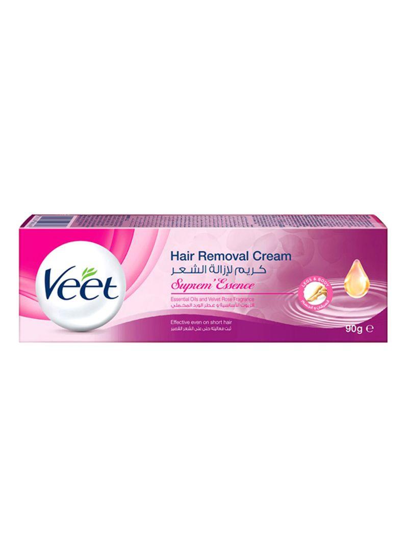 Shop Veet Hair Removal Cream Supreme Essence Skin 90g Online In