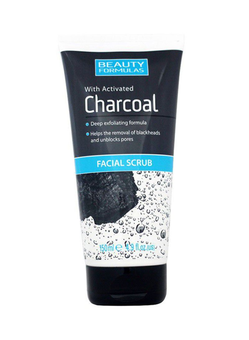 Shop BEAUTY FORMULAS Facial Scrub With Activated Charcoal 150 ml online in  Dubai, Abu Dhabi and all UAE