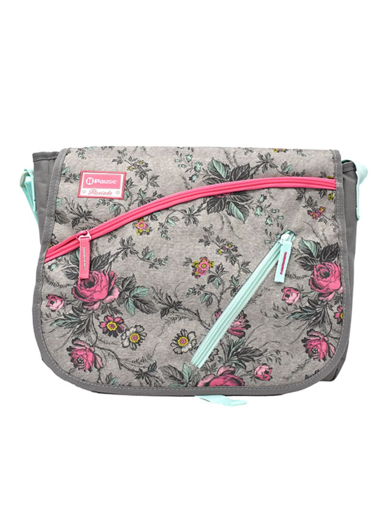 70e4a50c3251 Shop PAUSE Zipper Closure Messenger Bag online in Dubai