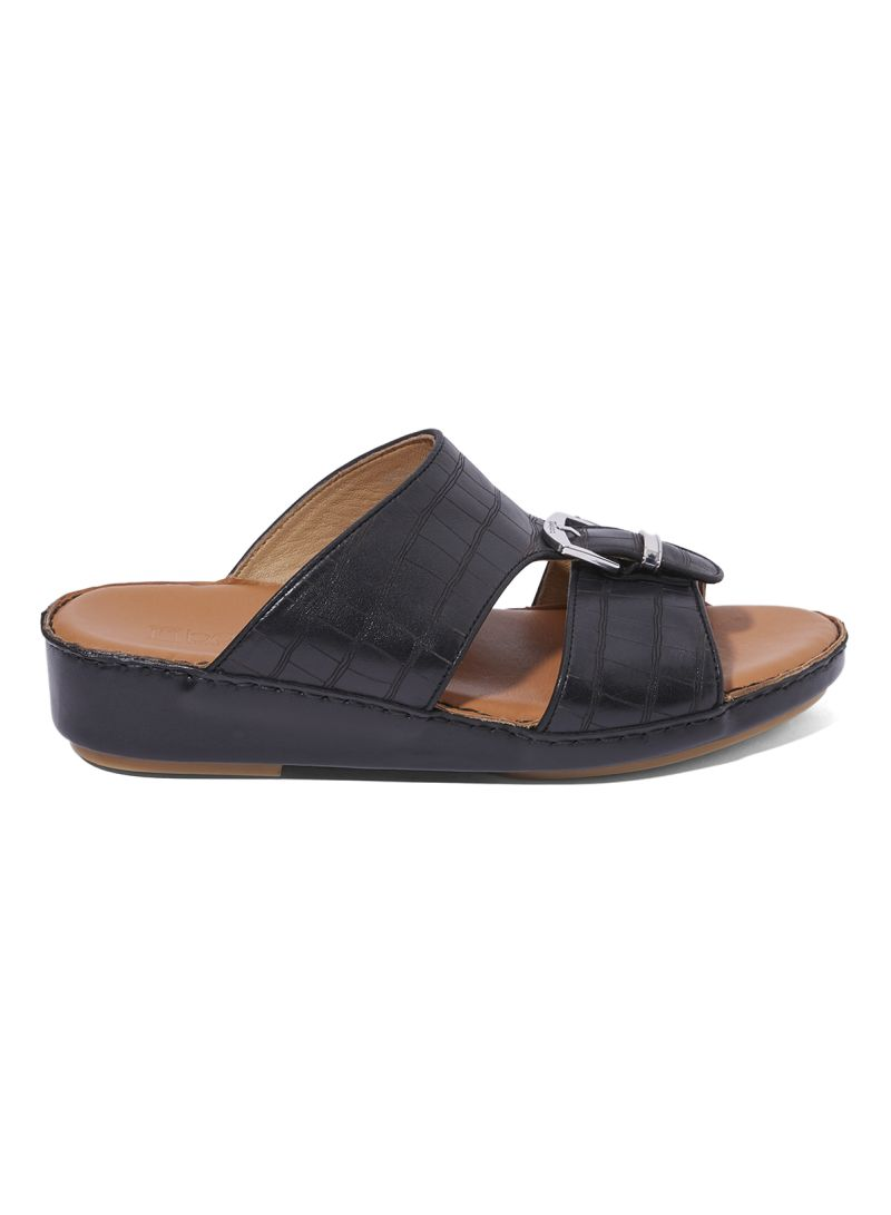Formal Arabic Sandals Black price in