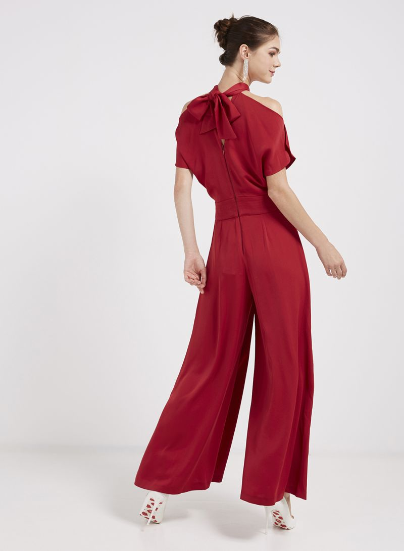 1994ec6badd Shop Coast Larissa Jumpsuit Red online in Dubai