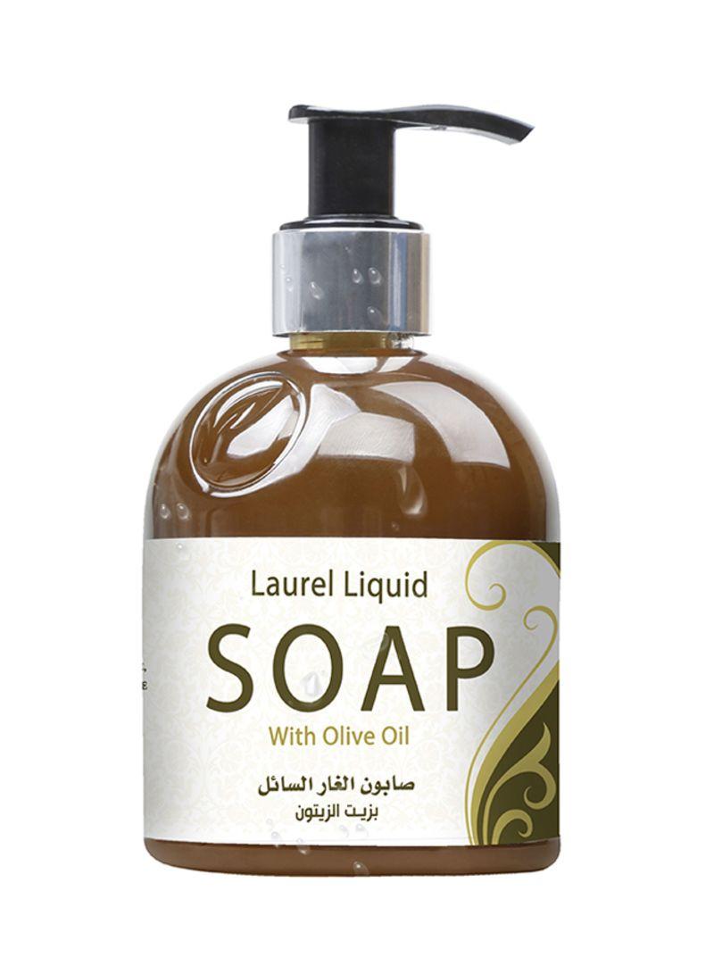 صابون الغار السائل بزيت الزيتون بني 270 مل