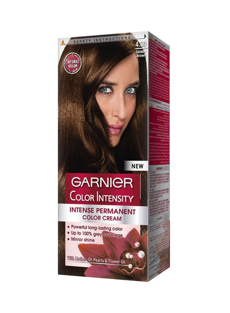 Color Intensity Permanent Hair Color 430 Golden Brown Hair Care
