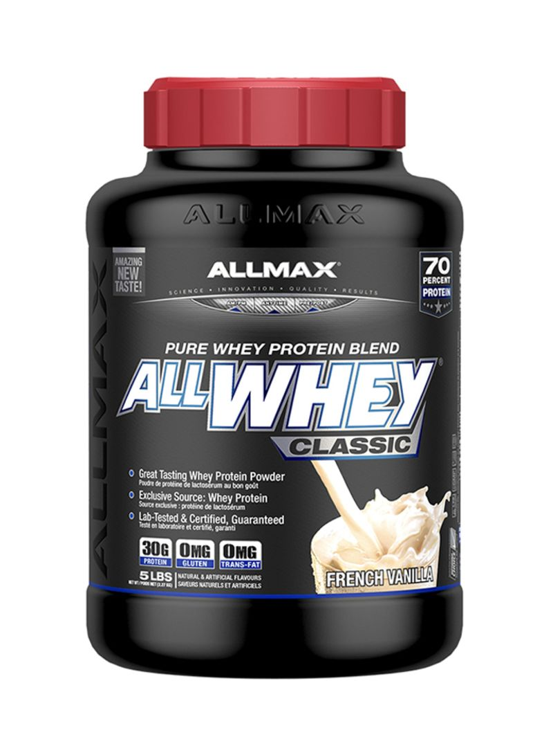 03ad4f2c6 Shop Allmax Allwhey Pure Whey Protein Blend Classic Dietary ...