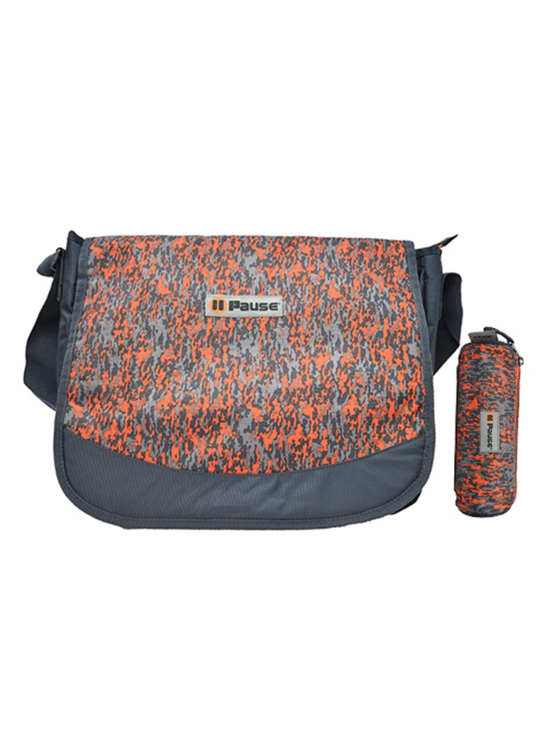 e659491fe867 Shop PAUSE Zipper Closure Messenger Bag With Pencil Case online in ...