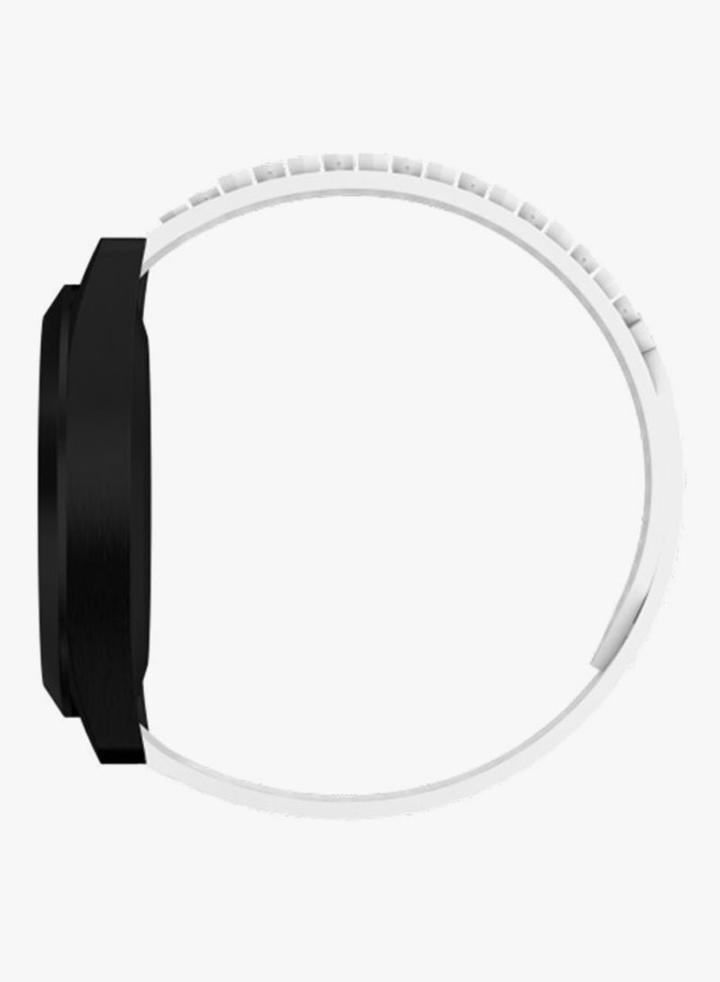 shop noomoon quick release watch band for spring pin 18mm white Sping Flawer link copied