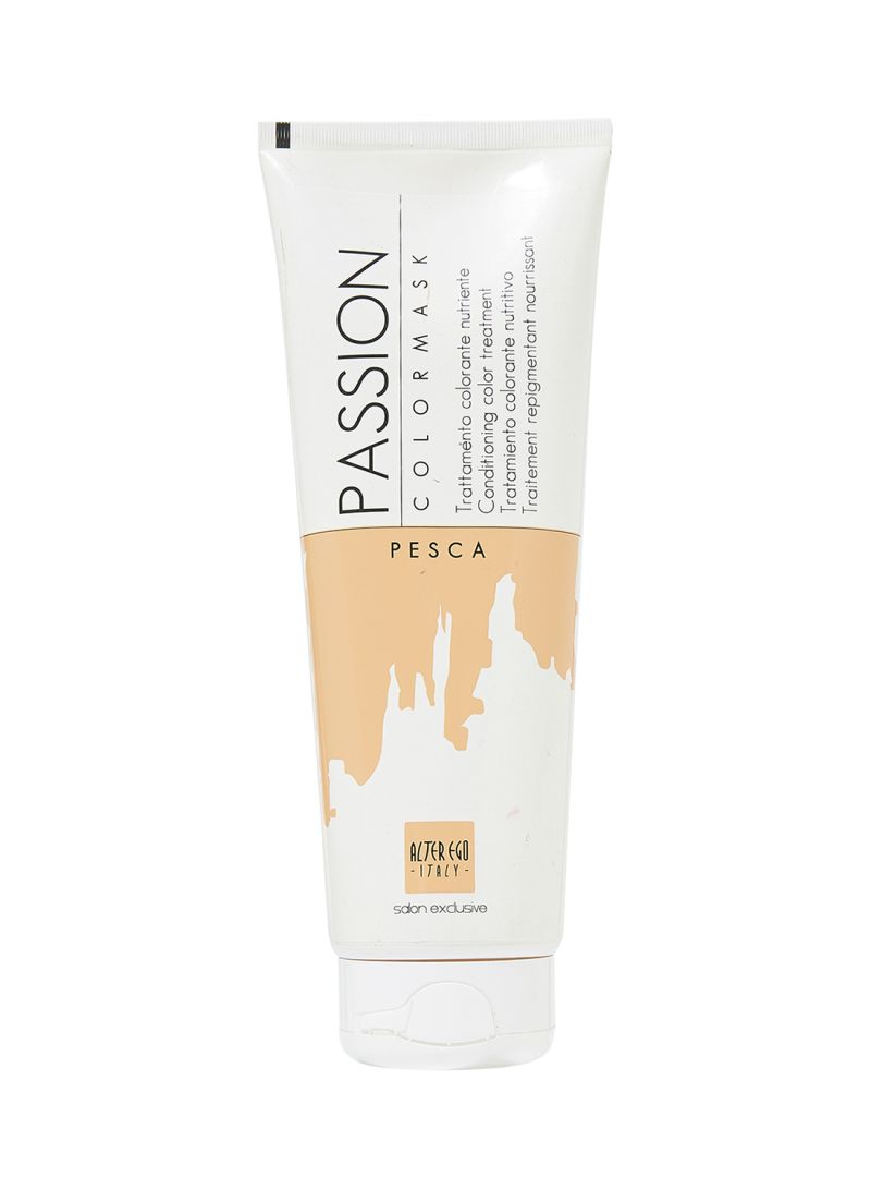 Shop Alter Ego Passion Hair Color Mask Peach 250 Ml Online In Dubai