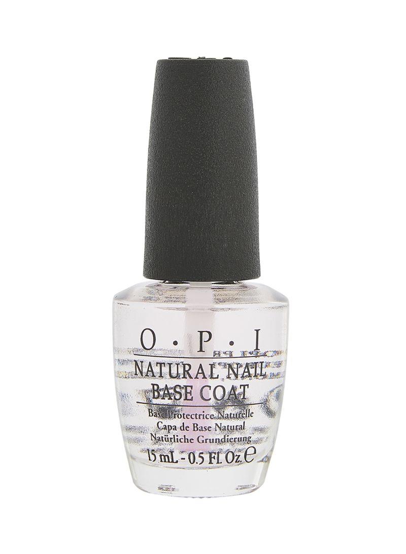 Shop OPI Natural Nail Base Coat Clear online in Dubai, Abu Dhabi and ...