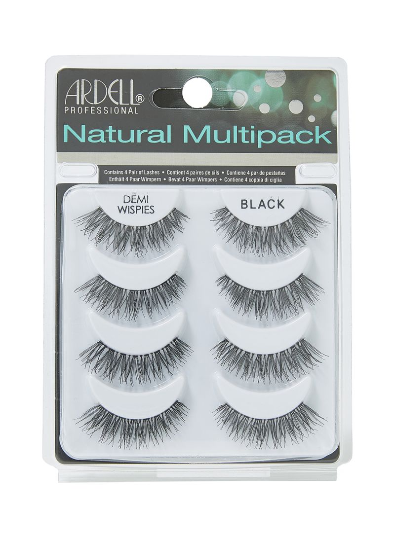 44f3a25ef3c Shop ARDELL 4-Pair Natural Multipack Demi Wispies False Eyelashes ...