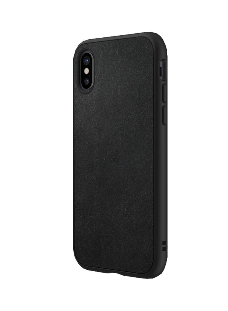 huge selection of 9ae9e 49851 Shop Rhino Shield SolidSuit Case Cover For Apple iPhone X  Microfiber/Graphite online in Riyadh, Jeddah and all KSA