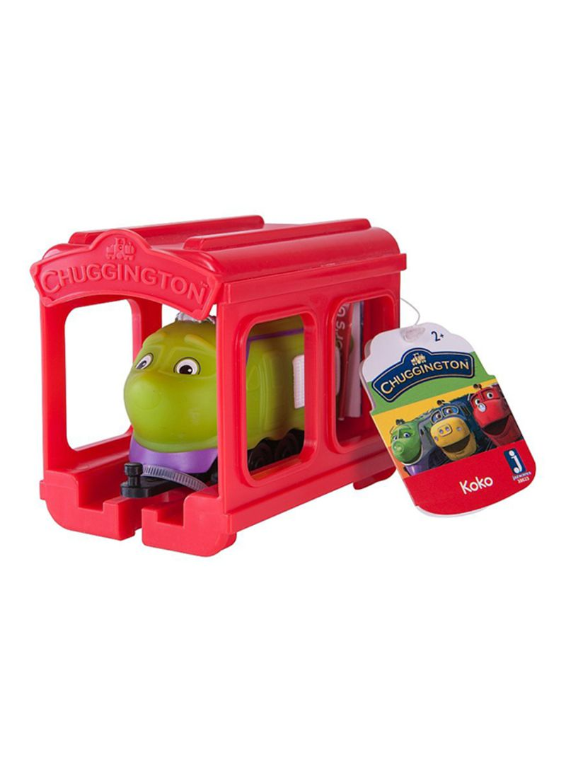 Chuggington Little Chuggers With Garage Koko