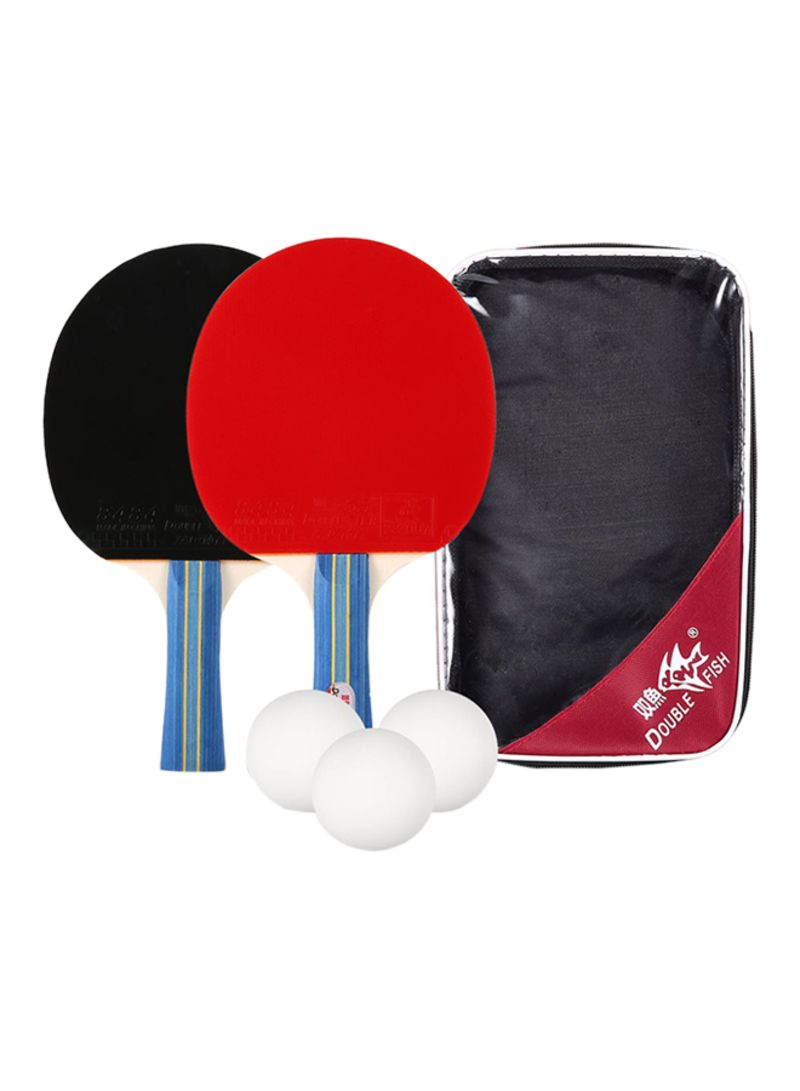 Stupendous Shop Double Fish 6 Piece Table Tennis Racket Set Online In Download Free Architecture Designs Ferenbritishbridgeorg