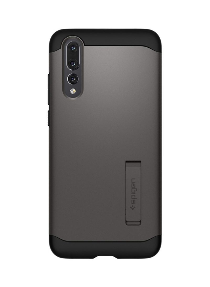 premium selection dca4b faa8f Shop Spigen Combination Slim Armor Case Cover For Huawei P20 Pro Gun  Metal/Black online in Dubai, Abu Dhabi and all UAE