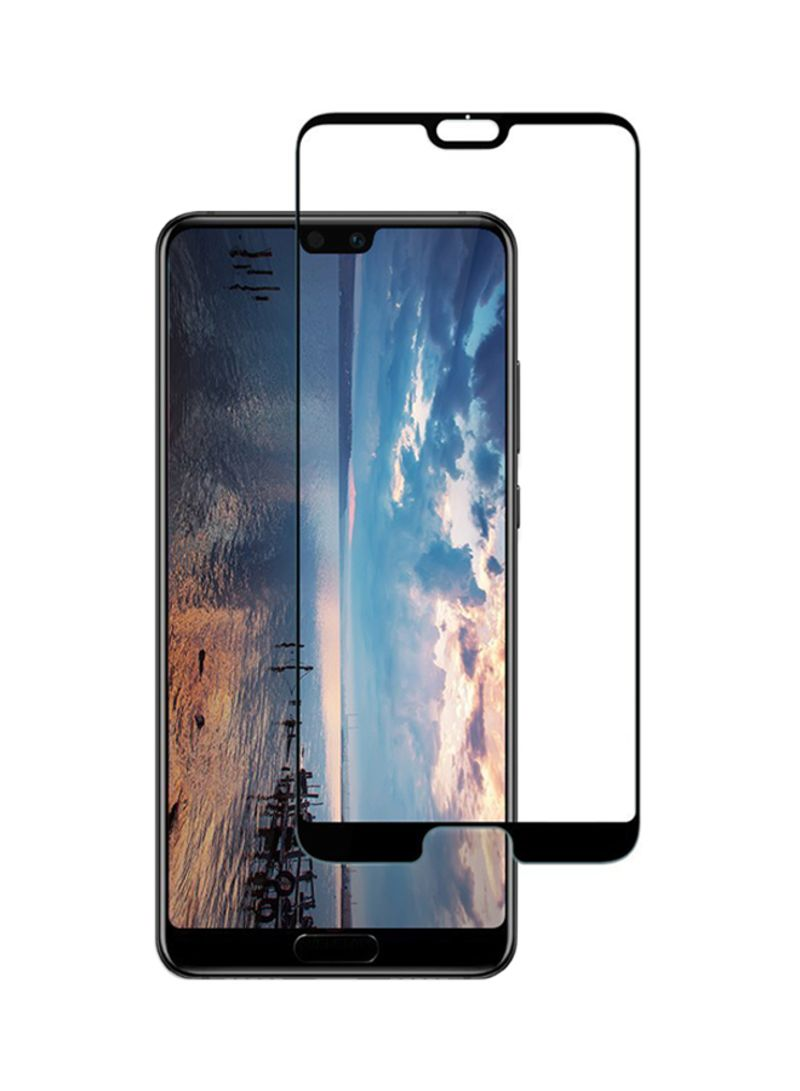 new arrival 89964 279ae Shop Spigen Tempered Glass Screen Protector For Huawei P20 Pro Black online  in Riyadh, Jeddah and all KSA