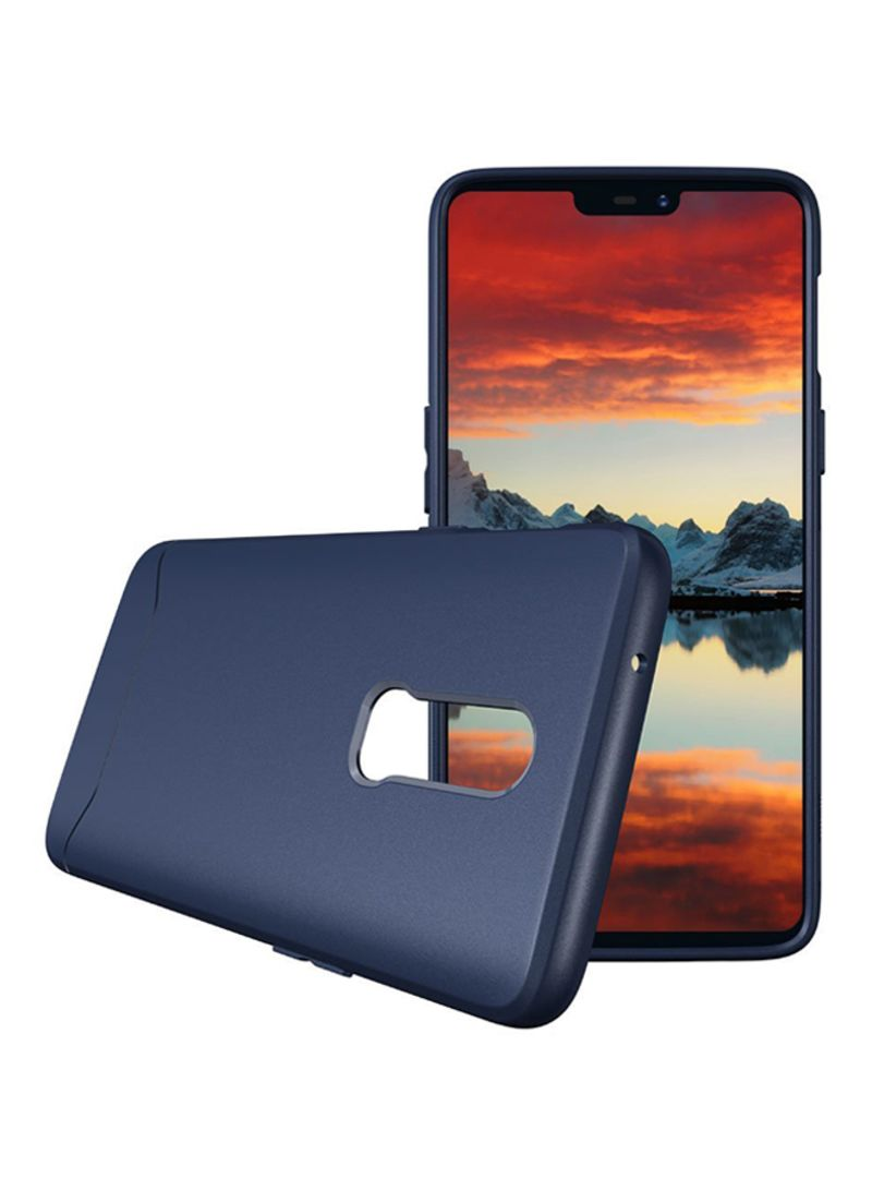 best website c5634 b00d1 Shop TUDIA Combination Protective Arch S Case Cover For OnePlus 6 Navy Blue  online in Dubai, Abu Dhabi and all UAE