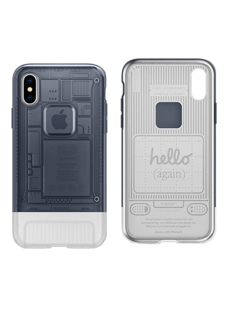 on sale 1dfe7 5e1e0 Shop Spigen Combination Classic C1 Case Cover For Apple iPhone X Graphite  online in Dubai, Abu Dhabi and all UAE
