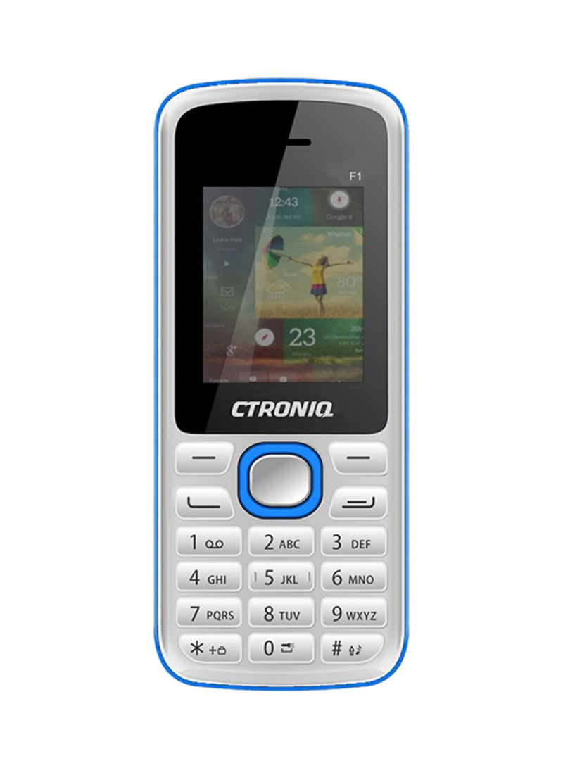 194b599d281 1 Offer Available. otherOffersImg. Ctroniq. Force F1 Dual SIM White 32MB 2G