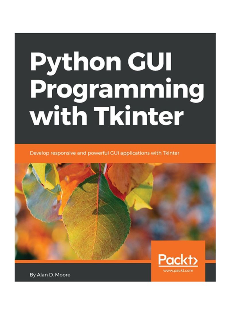 Shop Python GUI Programming With Tkinter Paperback online in Egypt