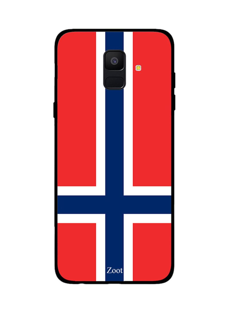 Shop Zoot Thermoplastic Polyurethane Protective Case Cover For Samsung  Galaxy A6 Norway Flag online in Dubai, Abu Dhabi and all UAE