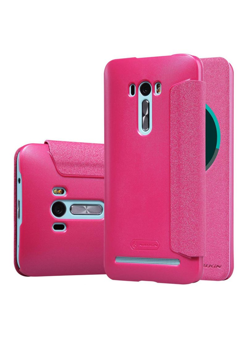 newest 94260 3f145 Shop Nillkin Combination Flip Cover For Asus ZenFone Selfie ZD551KL Pink  online in Dubai, Abu Dhabi and all UAE