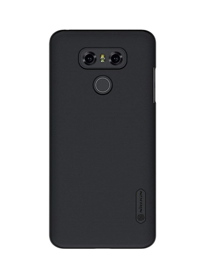 otherOffersImg_v1534682576/N15710643A_1. Nillkin. Polycarbonate Frosted Case Cover With Screen Protector For LG G6 Black