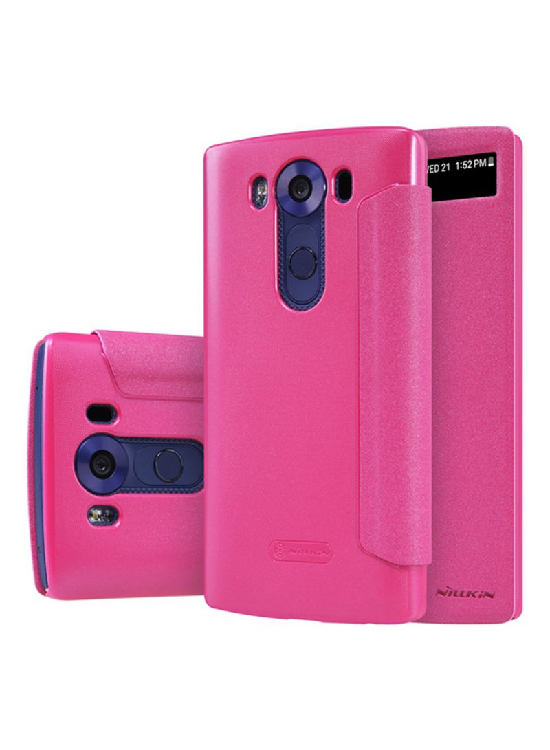 promo code 4a3ab f9a3f Shop Nillkin Combination Sparkle Case Cover For LG V10 Pink online ...