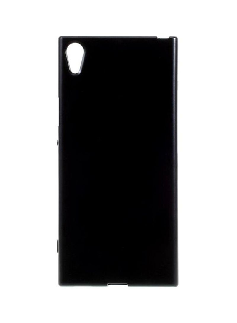 online store c7204 ea215 Shop INEIX Silicone Protective Case Cover For Sony Xperia XA1 G3116 Black  online in Dubai, Abu Dhabi and all UAE