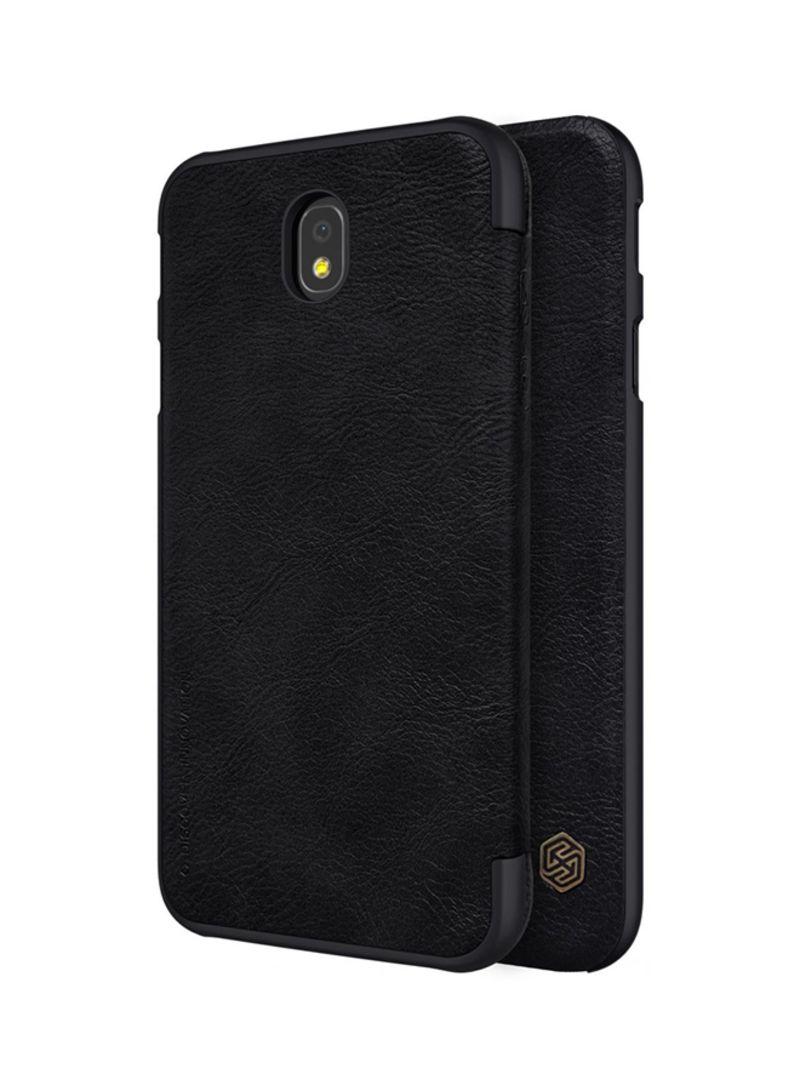e4f9ff556aa Shop Nillkin Leather Qin Series Flip Cover For Samsung Galaxy J5 Pro ...