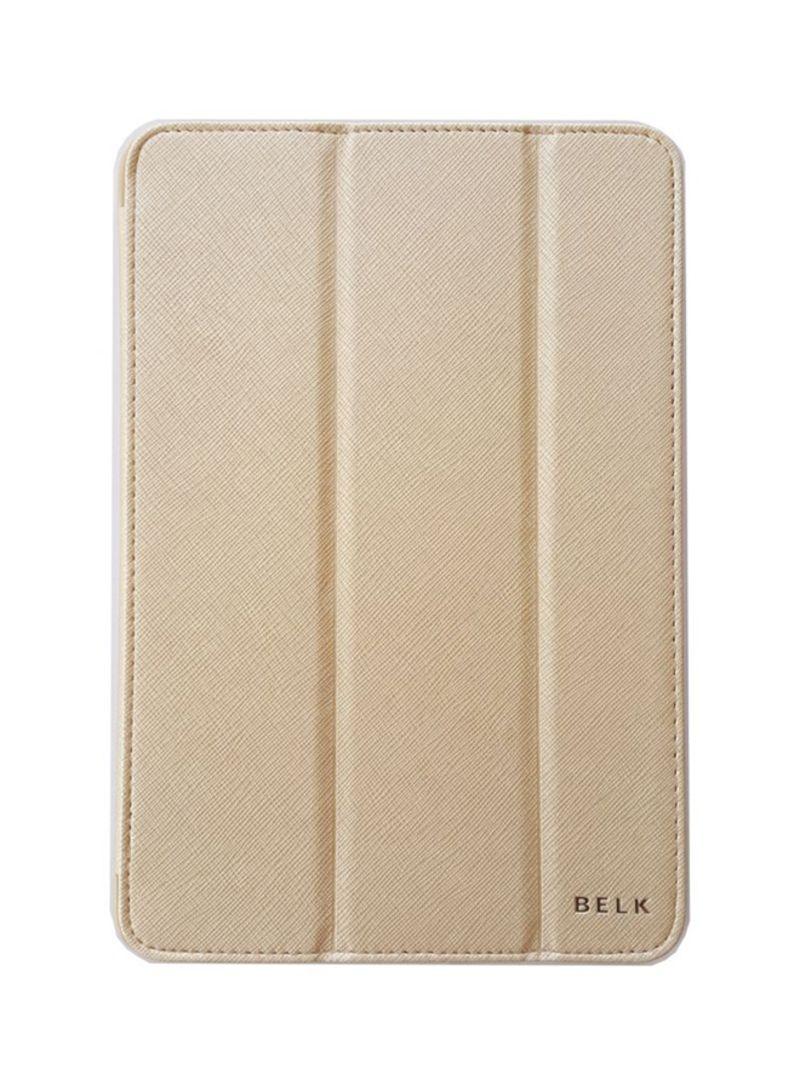finest selection 35eeb f360c Shop Belk Tri-Fold Case Cover For Apple iPad Mini 4 Gold online in Dubai,  Abu Dhabi and all UAE