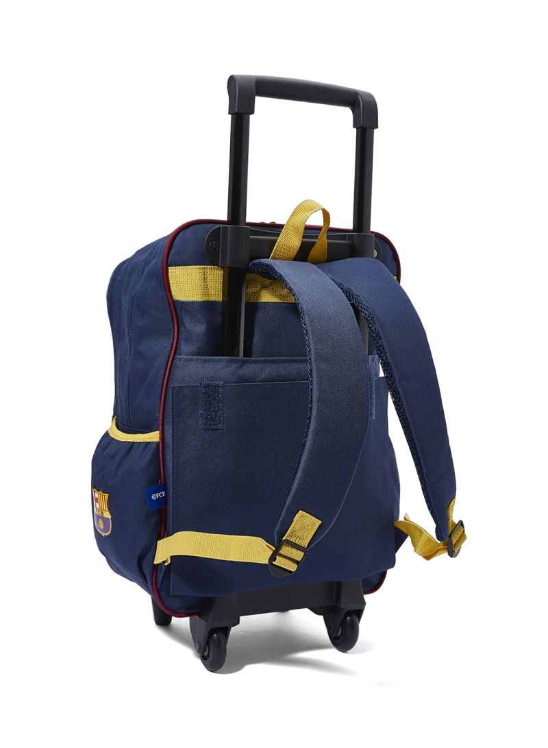 e36f3f6d8 Shop FC Barcelona FCB Players Printed Trolley Backpack online in ...