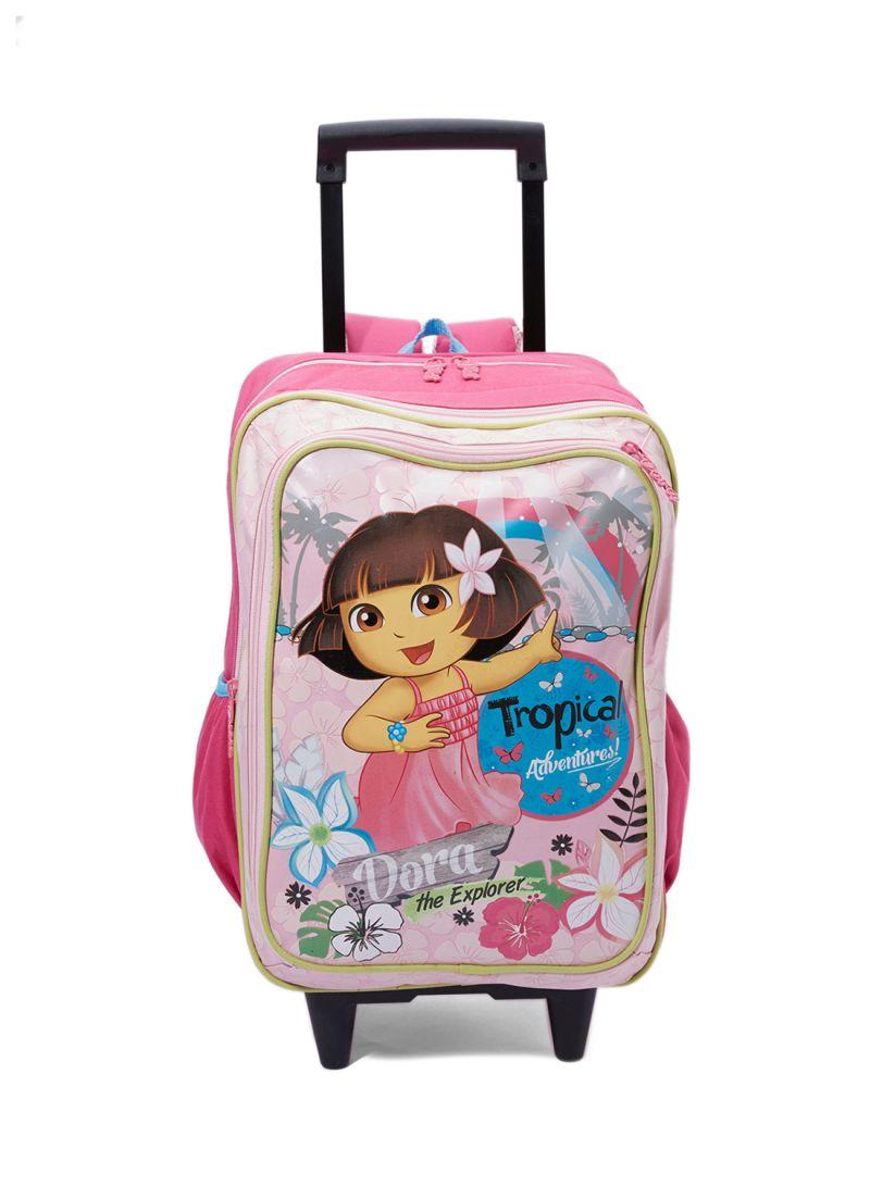 dadd0f87a0 Shop Nickelodeon Junior Dora Printed Trolley Backpack online in ...