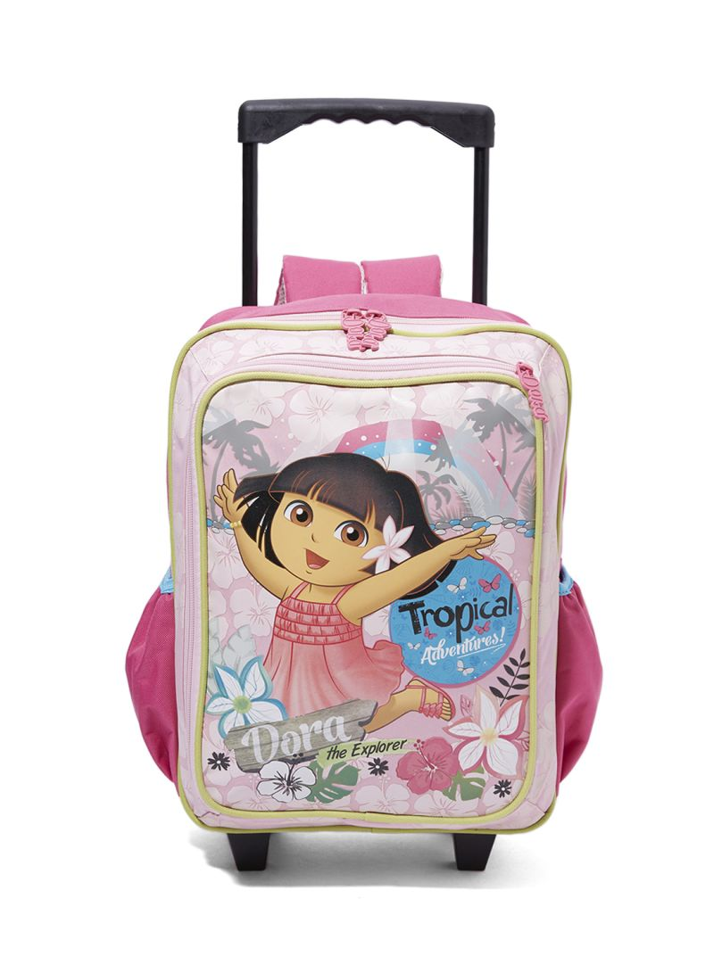 cef76b3c77 Shop Nickelodeon Junior Dora Printed Trolley Backpack online in ...