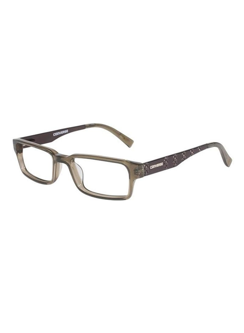 7a479ca608 Shop Converse Kids  Rectangular Eyeglass Frames CONYIKE-OLI online ...