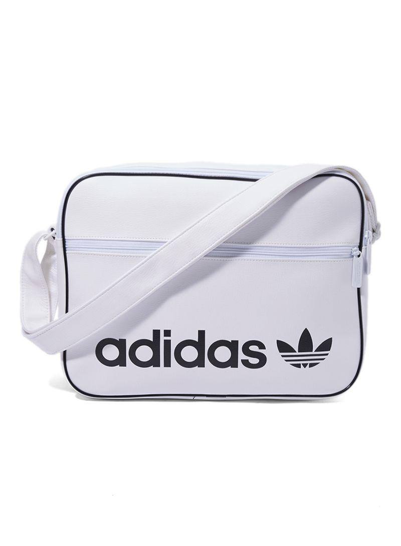 8e94882017b7 Shop adidas Originals Airliner Vintage Shoulder Bag White online in ...