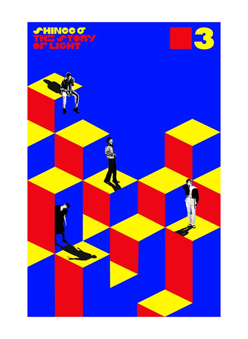 Shop KSOUK Shinee 6 The Story Of Light Ep 3 CD CD online in