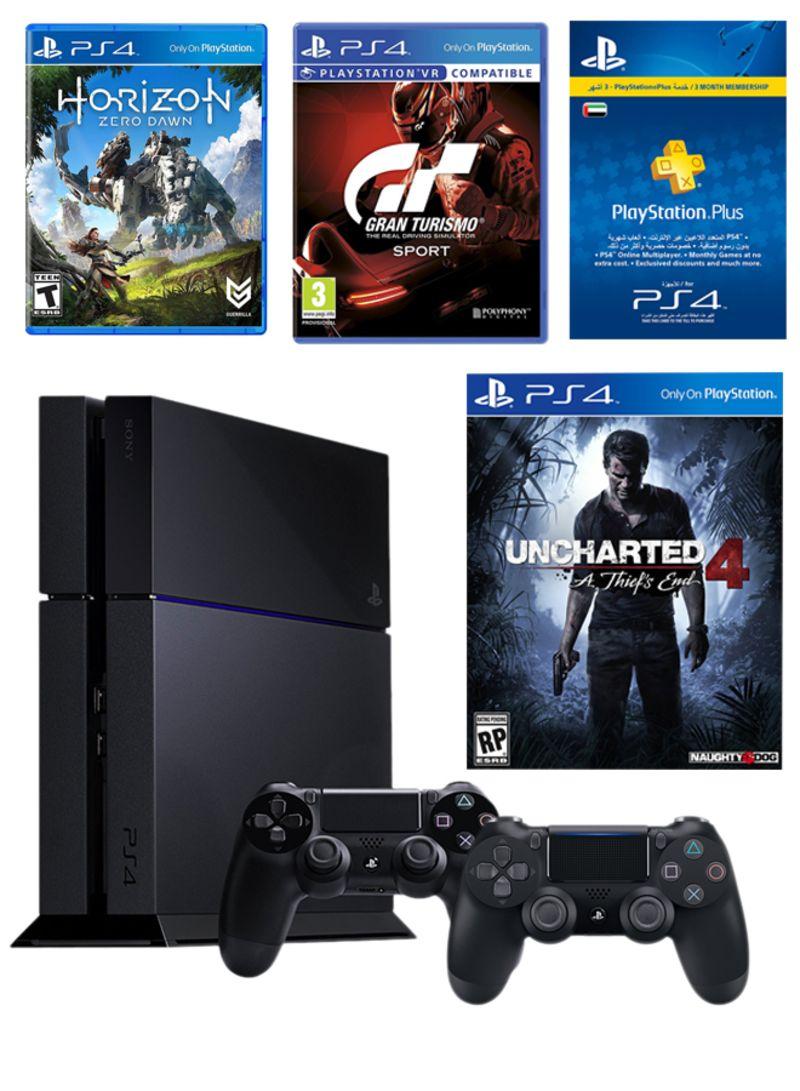 Dejlig Shop Sony PlayStation 4 Slim 500GB With Controller + Uncharted 4 + BN-95