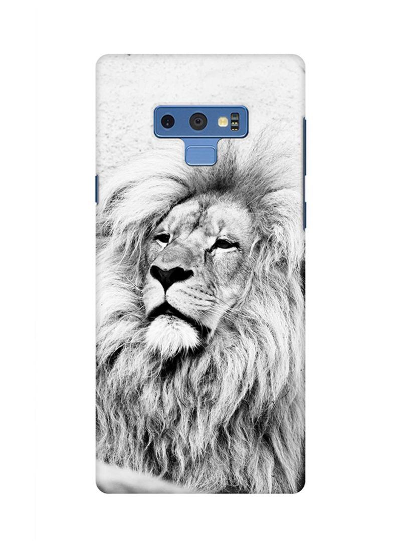 Shop Stylizedd Protective Case Cover For Samsung Galaxy Note 9 Wise Lion  online in Dubai, Abu Dhabi and all UAE
