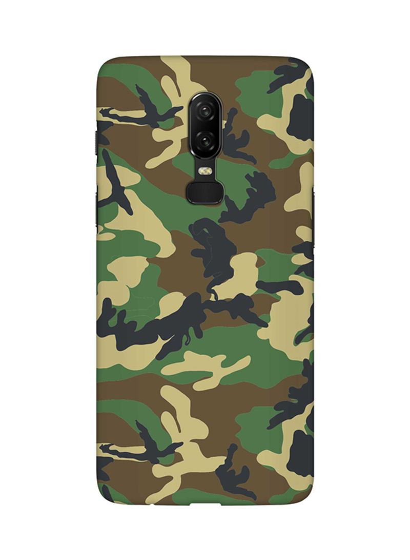 wholesale dealer b9e3f d7ece Shop Stylizedd Protective Case Cover For OnePlus 6 Jungle Camo online in  Dubai, Abu Dhabi and all UAE