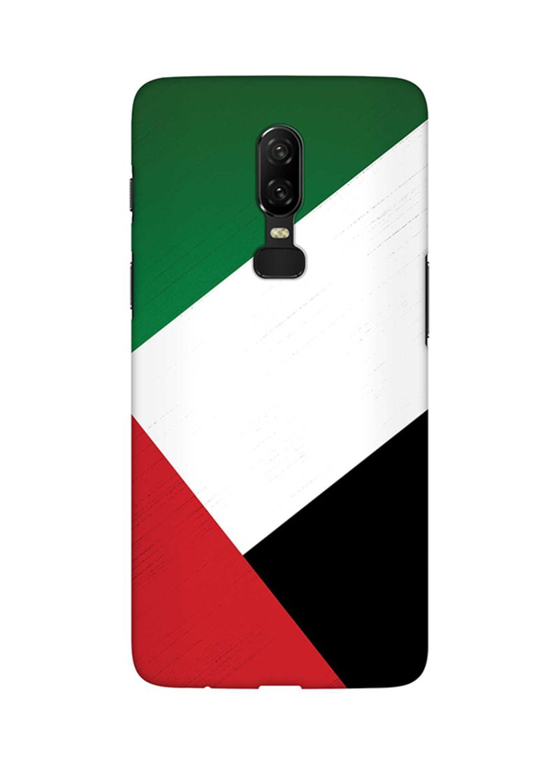 Shop Stylizedd Protective Case Cover For OnePlus 6 Flag Of UAE online in  Dubai, Abu Dhabi and all UAE